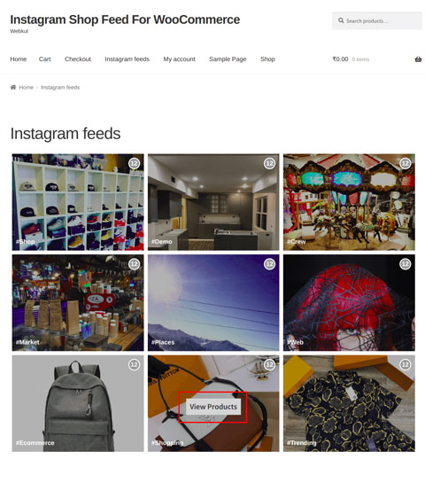 Instagram Shop Feed Plugin For WooCommerce