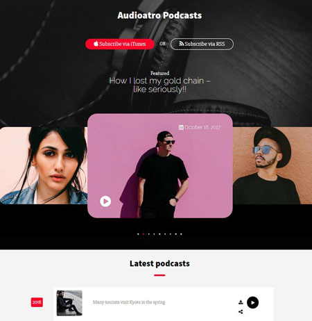 15+ WordPress Themes for Radio Stations & Podcasts