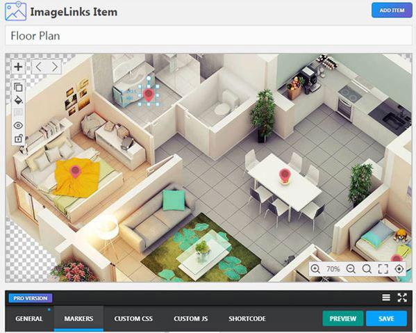 ImageLinks: Interactive Image Builder for WordPress