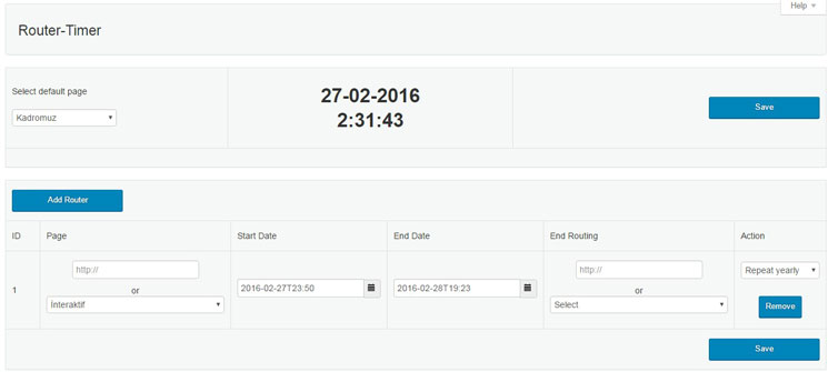 WP Time Based Page Redirect Plugin