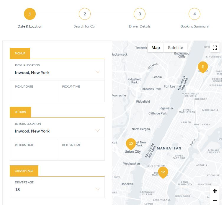 5 Must See Taxi WordPress Plugins - WP Solver