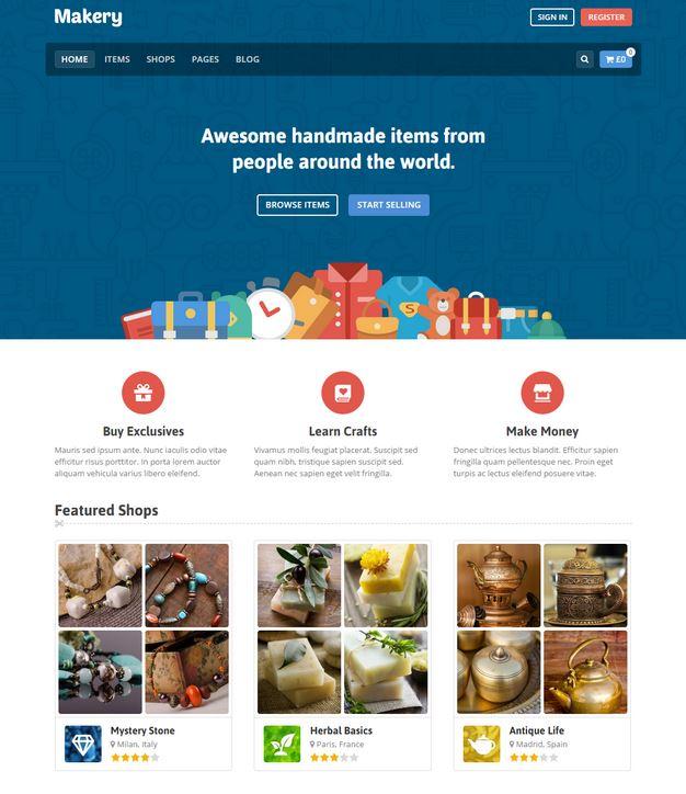 10+ Attractive WordPress Marketplace Themes