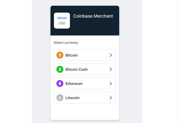Coinbase commerce woocommerce
