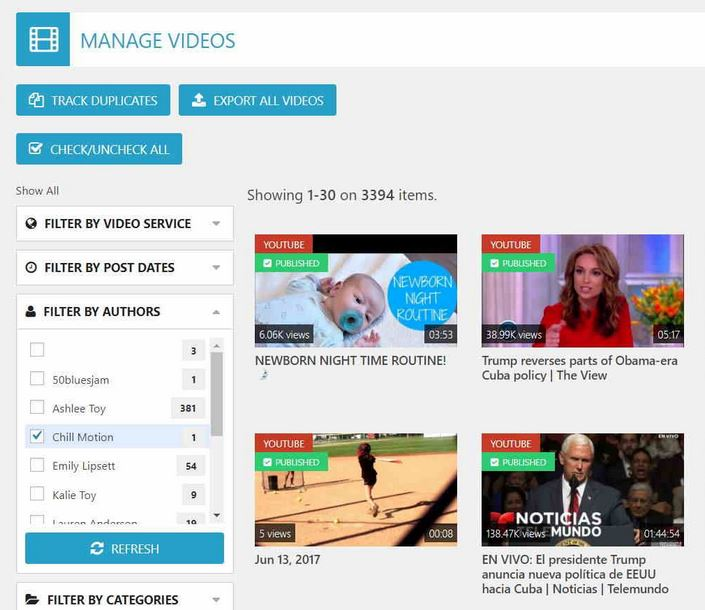 [ plugin wordpress ]Automatically post video on website with WP Video Robot