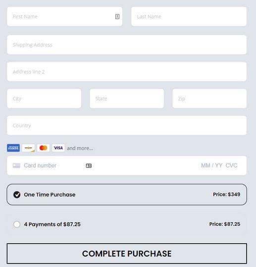 Divi Checkout Form Builder for WordPress