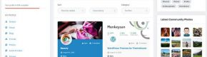 15 WordPress Themes for Social Networks
