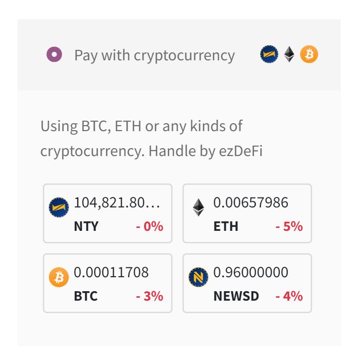 bitcoin commerci significativi